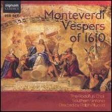Vespri del 1610 - CD Audio di Claudio Monteverdi