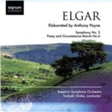 Sinfonia n.3 - Pomp and Circumstance - CD Audio di Edward Elgar,Tadaaki Otaka