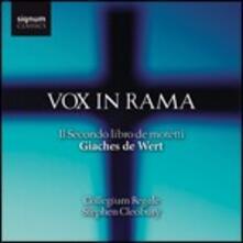 Vox in Rama - CD Audio di Stephen Cleobury,Jaches de Wert