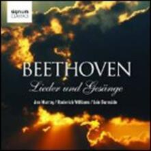 Lieder und Gesänge - CD Audio di Ludwig van Beethoven,Ann Murray,Roderick Williams