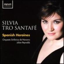 Eroine spagnole - CD Audio di Silvia Tro Santafé