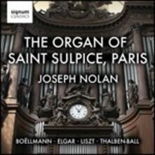 L'organo di Saint Suplice, Parigi. - CD Audio di Edward Elgar,Franz Liszt,Leon Boëllmann,George Thalben-Ball,Joseph Nolan