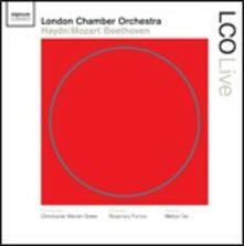 Sinfonia n.85 / Concerto per pianoforte n.12 / Sinfonia n.8 - CD Audio di Ludwig van Beethoven,Franz Joseph Haydn,Wolfgang Amadeus Mozart,Christopher Warren-Green,Melvyn Tan