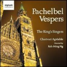 Vespri - CD Audio di King's Singers,Charivari Agréable,Johann Pachelbel,Kah-Ming Ng