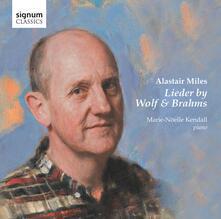 Lieder - CD Audio di Johannes Brahms,Hugo Wolf