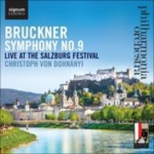 Symphony No.9 - CD Audio di Anton Bruckner
