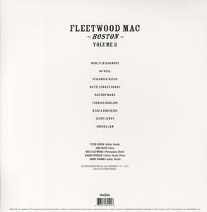 Boston vol.2 - Vinile LP di Fleetwood Mac - 2