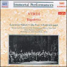 Rigoletto - CD Audio di Giuseppe Verdi,Lawrence Tibbett,Lily Pons,Metropolitan Orchestra,Ettore Panizza