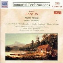 Merry Mount - CD Audio di Howard Hanson