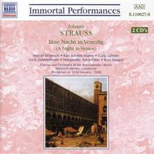 Una notte a Venezia (Eine Nacht in Venedig) - CD Audio di Johann Strauss
