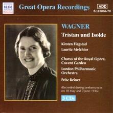 Tristano e Isotta (Tristan und Isolde) - CD Audio di Richard Wagner,Fritz Reiner,Kirsten Flagstad,Lauritz Melchior,London Philharmonic Orchestra