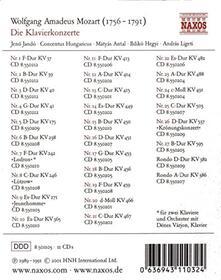 Die Klavierkonzerte - CD Audio di Wolfgang Amadeus Mozart
