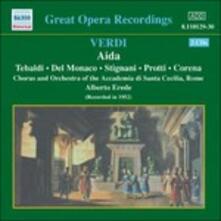 Aida - CD Audio di Giuseppe Verdi,Mario Del Monaco,Renata Tebaldi,Fernando Corena,Ebe Stignani,Alberto Erede,Orchestra dell'Accademia di Santa Cecilia
