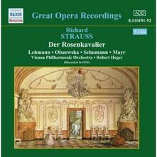Il cavaliere della rosa (Der Rosenkavalier) - CD Audio di Richard Strauss,Wiener Philharmoniker,Robert Heger