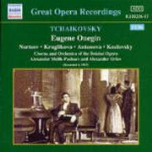 Eugenio Onegin - CD Audio di Pyotr Ilyich Tchaikovsky