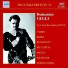 Gigli Edition vol.6 - CD Audio di Beniamino Gigli