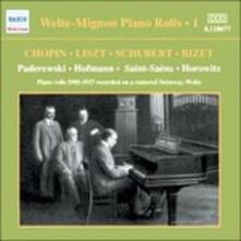 Welte Mignon Piano Rolls vol.1 - CD Audio