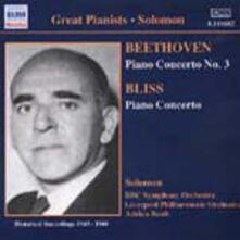 Concerto per pianoforte n.3 / Concerto per pianoforte - CD Audio di Ludwig van Beethoven,Sir Arthur Bliss