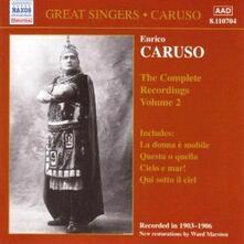 Integrale delle registrazioni vol.2 - CD Audio di Enrico Caruso