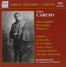 Integrale delle registrazioni vol.6 - CD Audio di Enrico Caruso