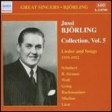 Collection vol.5 - CD Audio di Jussi Björling