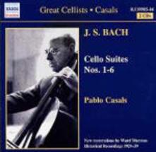 Suites per violoncello - CD Audio di Johann Sebastian Bach,Pablo Casals
