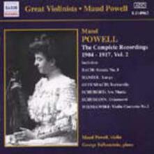 Integrale delle registrazioni vol.2 - CD Audio di Maud Powell