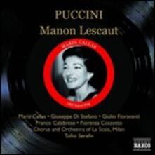 Manon Lescaut - CD Audio di Maria Callas,Giacomo Puccini