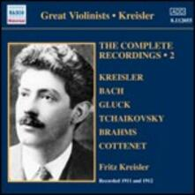 Integrale delle registrazioni vol.2 - CD Audio di Fritz Kreisler