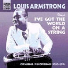 I've got the World on a String - CD Audio di Louis Armstrong
