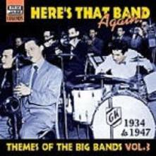 Here's that Band Again: Big Band Themes vol.3 - CD Audio
