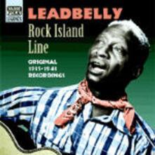 Rock Island Line - CD Audio di Leadbelly