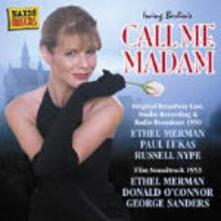 Call Me Madam (Colonna Sonora) (Original Broadway Cast 1950) - CD Audio di Irving Berlin