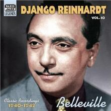 Belleville. Original Recordings vol.10 1940-1942 - CD Audio di Django Reinhardt