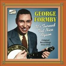 It's Turned Out Nice Again. Original Recordings 1932-1946 - CD Audio di George Formby