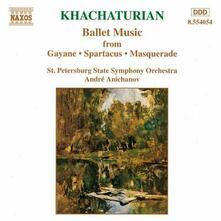 Gayane - Spartacus - Masquerade (Selezione) - CD Audio di Aram Khachaturian