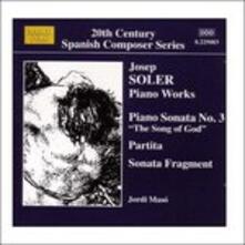 Piano Works - CD Audio di Jordi Maso