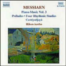 Opere per pianoforte vol.3 - CD Audio di Olivier Messiaen