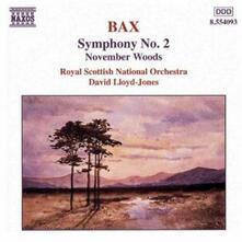 Sinfonia n.2 - November Woods - CD Audio di Arnold Trevor Bax,Royal Scottish National Orchestra,David Lloyd-Jones