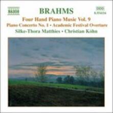 Opere per pianoforte a 4 mani vol.9 - CD Audio di Johannes Brahms