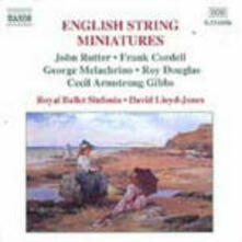 English String Miniatures - CD Audio