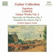 Opere per chitarra vol.2 - CD Audio di Napoleon Coste