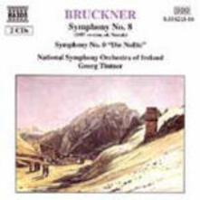 Sinfonia n.8 - Sinfonia n.0 (Versione del 1887) - CD Audio di Anton Bruckner,Georg Tintner,Ireland National Symphony Orchestra