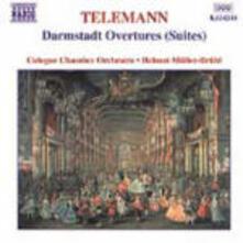 Ouvertures di Darmastadt - CD Audio di Georg Philipp Telemann