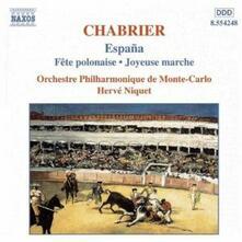 Opere orchestrali - CD Audio di Emmanuel Chabrier