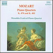 Quartetti con pianoforte K478, K493 - CD Audio di Wolfgang Amadeus Mozart