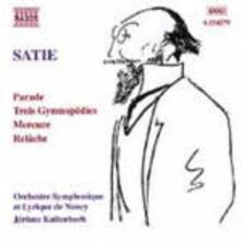 Opere per orchestra - CD Audio di Erik Satie