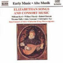 Elizabethan Songs and Consort Music - CD Audio