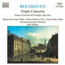 Triplo concerto - Concerto per pianoforte op.61a - CD Audio di Ludwig van Beethoven,Jeno Jandó,Maria Kliegel,Dong Suk-Kang,Bela Drahos,Nicolaus Esterhazy Sinfonia