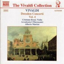 Concerti di Dresda vol.4 - CD Audio di Antonio Vivaldi